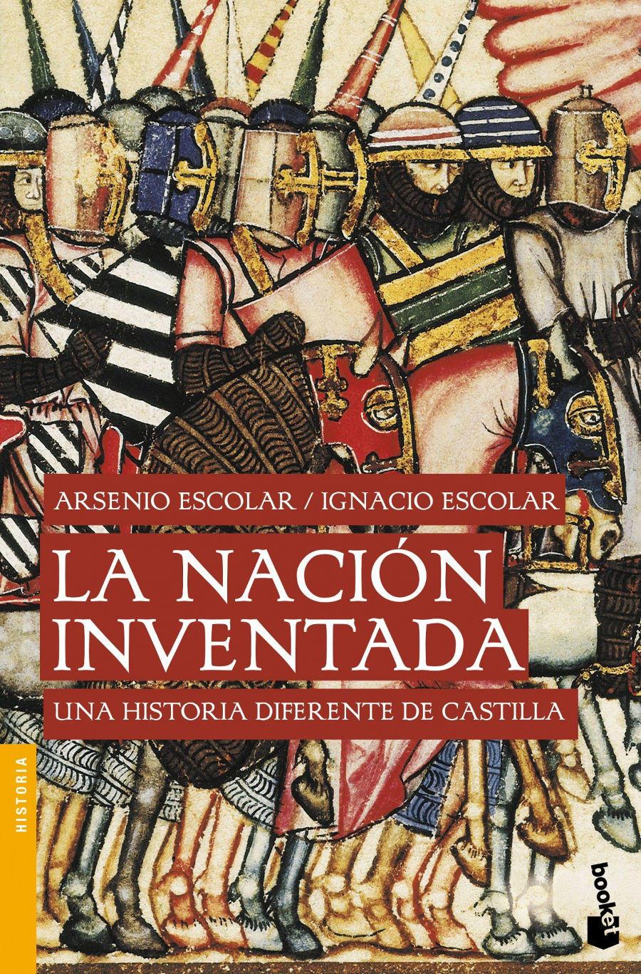 La nación inventada Book Cover