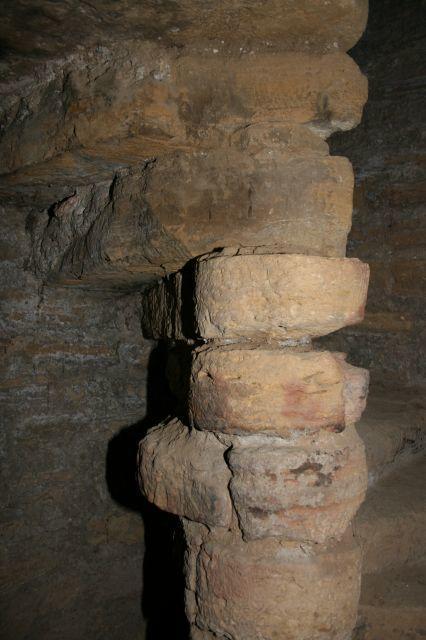 Escalera de caracol de Baptisterio de Gabia Grande