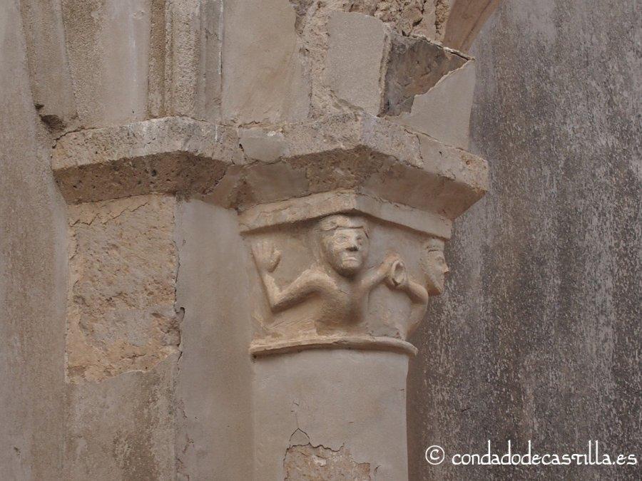 Capitel de la ermita de San Salvador (Tamarón, Burgos)