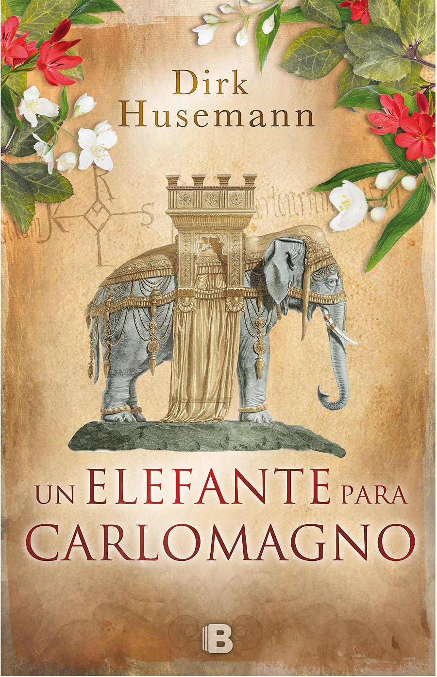 Un elefante para Carlomagno Book Cover