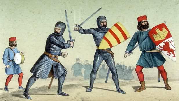 Montero de Espinosa (a la derecha)