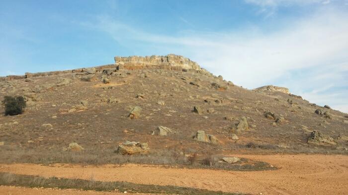 Restos del castillo de Carpio Bernardo (Salamanca)