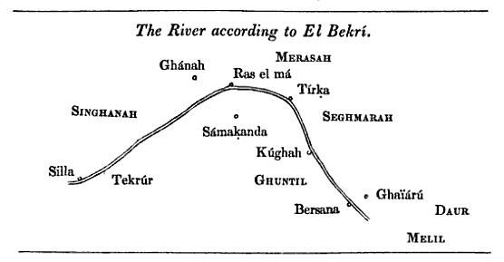 El río Senegal según al-Bakri