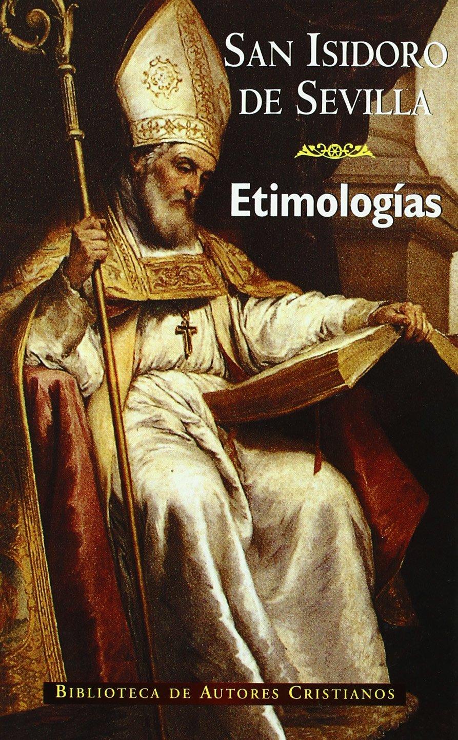 Etimologías de San Isidoro de Sevilla Book Cover