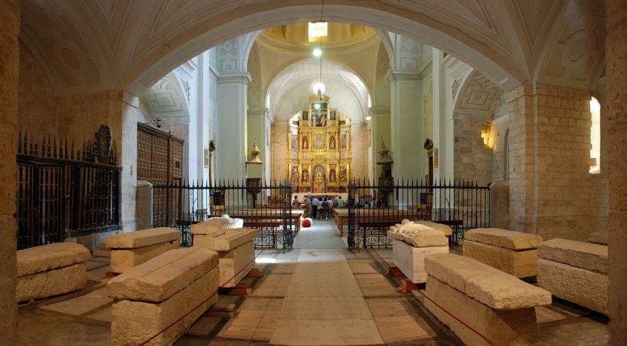 Panteón de los Banu Gómez en San Zoilo de Carrión