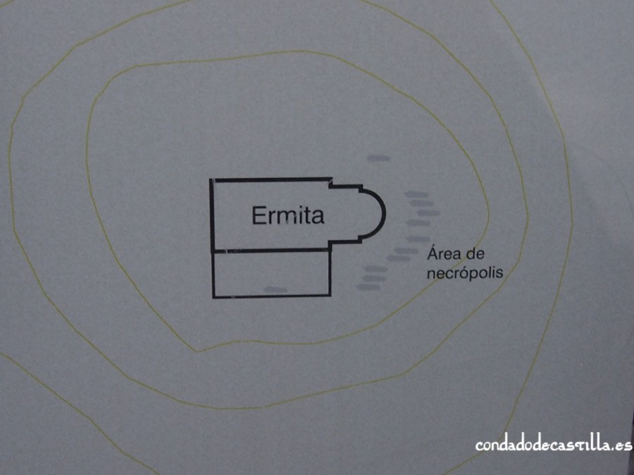 Plano ermita San Isidro y necrópolis (Domingo García)