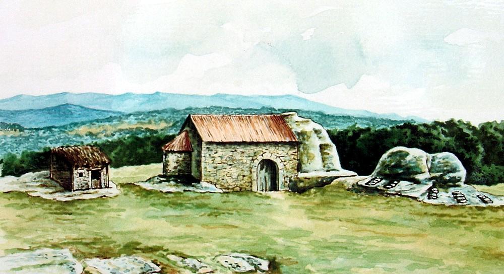 Reconstrucción yacimiento Santiuste