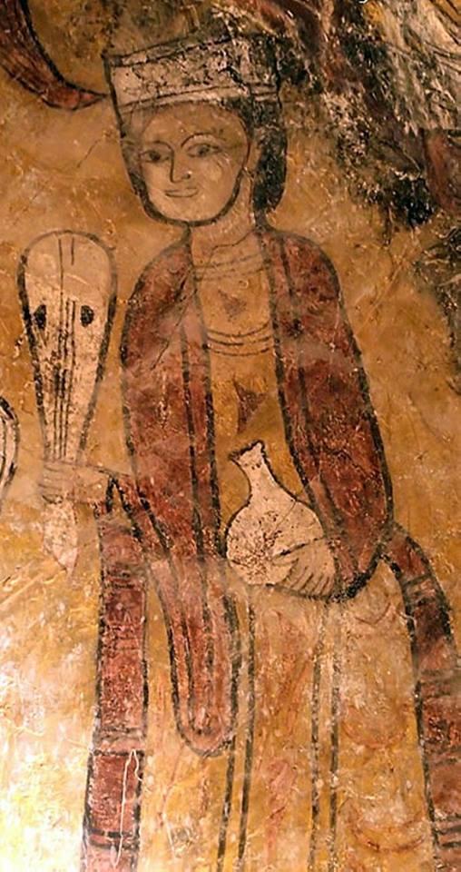 Pintura románica de San Esteban de Viguera: ¿esposa de Ramiro Garcés?