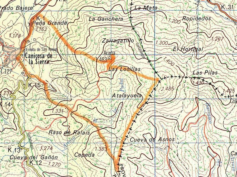 Mapa PRC-BU-9