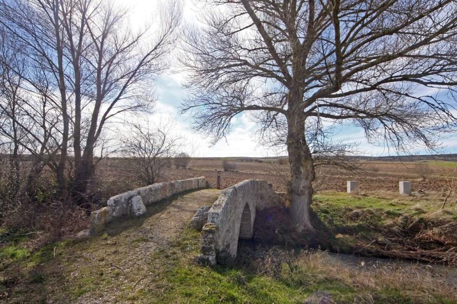 Puente medieval de Agés (Burgos)