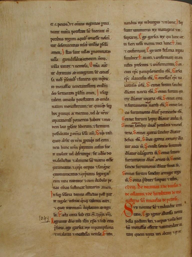 Folio 85 v - Becerro Gótico de San Millán de la Cogolla