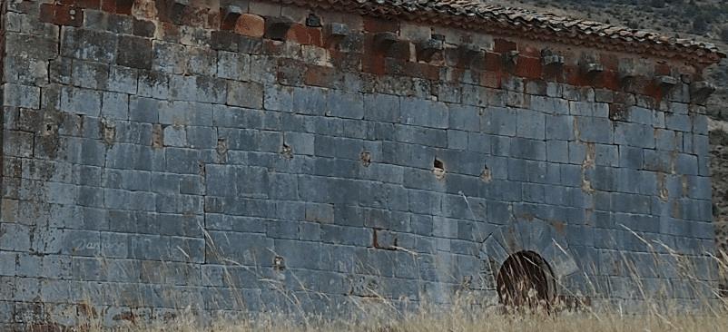 Huecos antigua cubierta San juan de Barbadillo