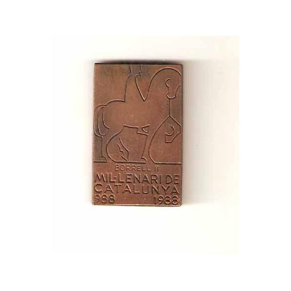 Medalla milenario de Cataluña 1988