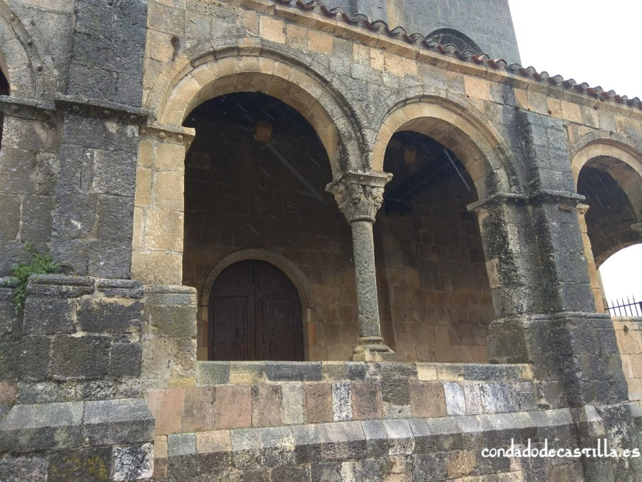 Pórtico de San Salvador de Sepúlveda