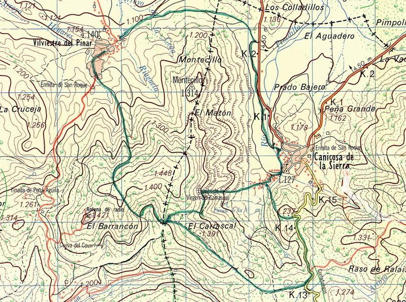 Mapa PRC-BU-13