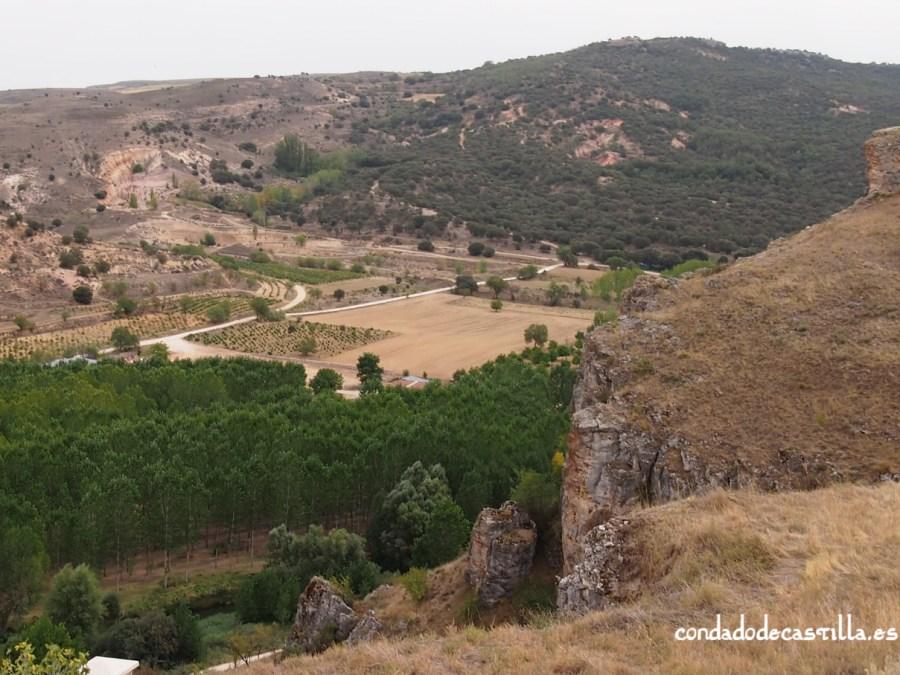 El valle del río Duratón desde San Martín de Fuentidueña