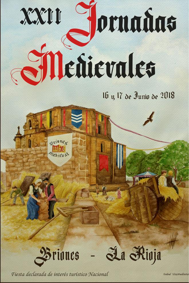 XXII Jornadas de Briones Medieval 2018