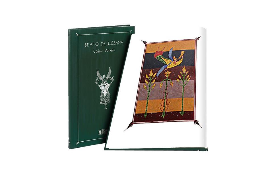 Beato de Liébana. Códice Alcains: texto del Apocalipsis de San Juan Book Cover