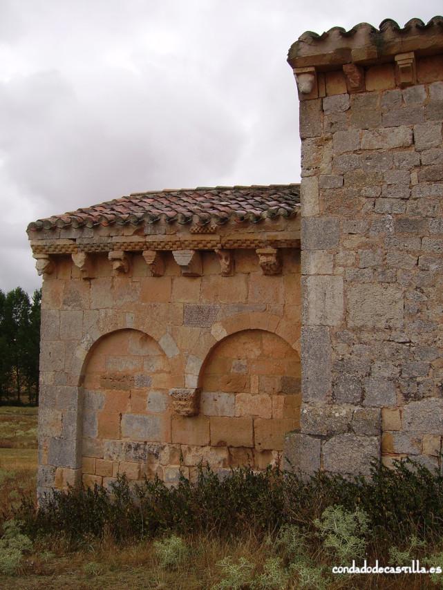 Muro norte del ábside de la Ermita del Santo Cristo de San Sebastián