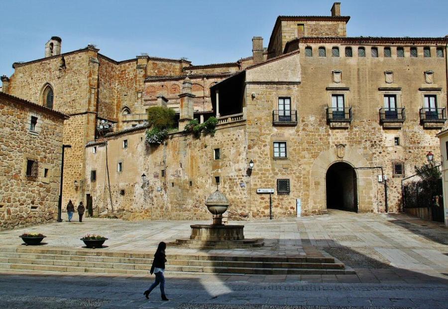 Palacio del Marqués de Mirabel en Plasencia