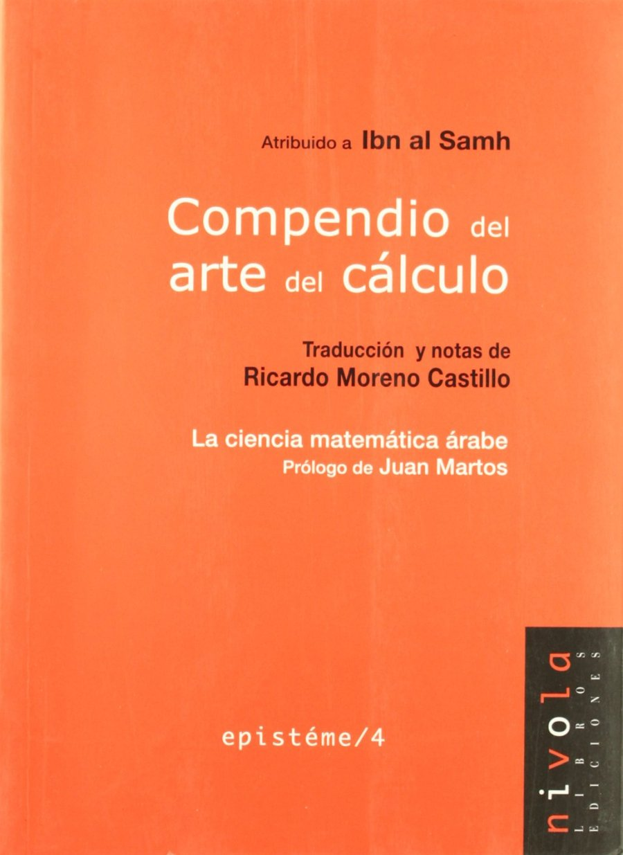Compedio del Arte del Cálculo Book Cover