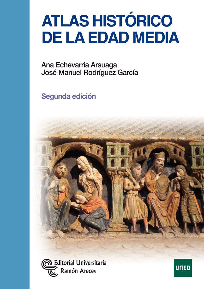 Atlas histórico de la Edad Media Book Cover