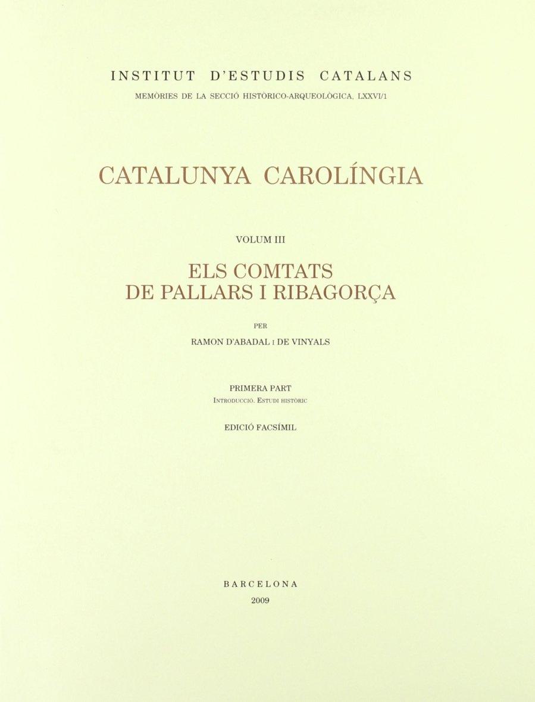 Els comtats de Pallars i Ribagorça 1 Book Cover