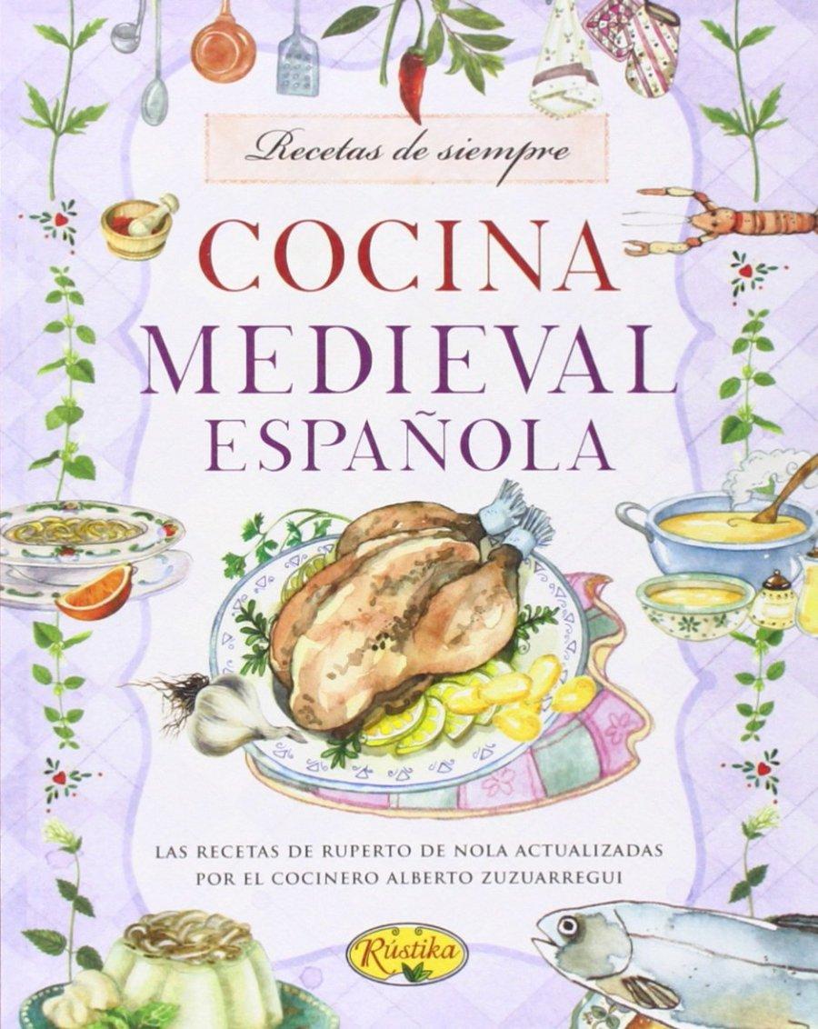 Cocina Medieval Española Book Cover