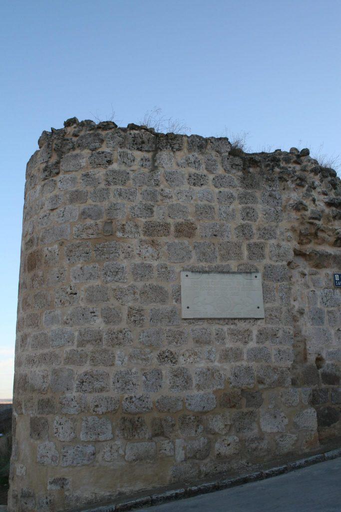 Puerta de San Juan de la muralla medieval de Roa de Duero