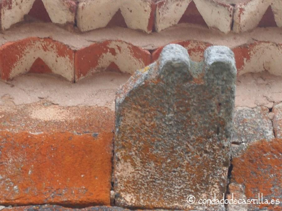 Canecillo 11º del muro norte (contando de este a oeste) de San Juan Bautista de Barbadillo