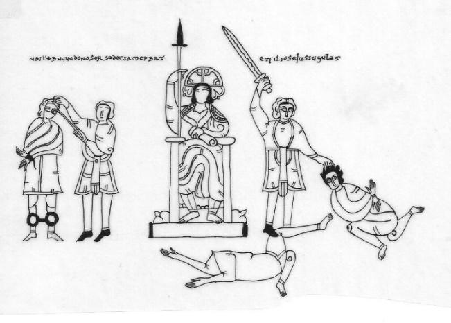 Beato de Maio, f. 241, aprox. 940-945