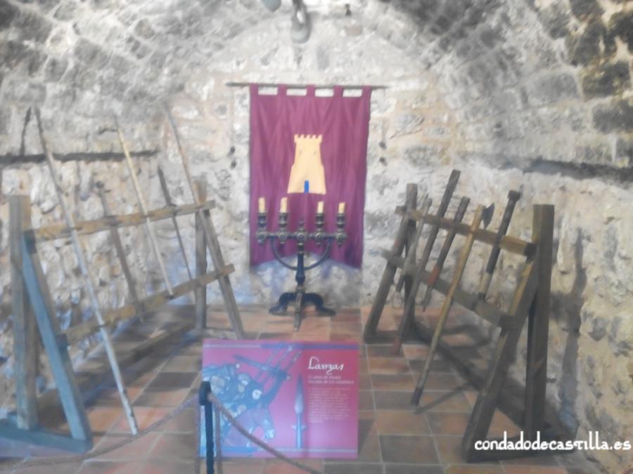 Interior del Torreón de Covarrubias