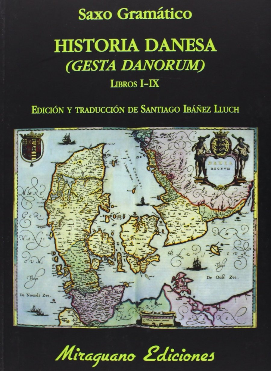 Historia danesa (Gesta danorum) Book Cover