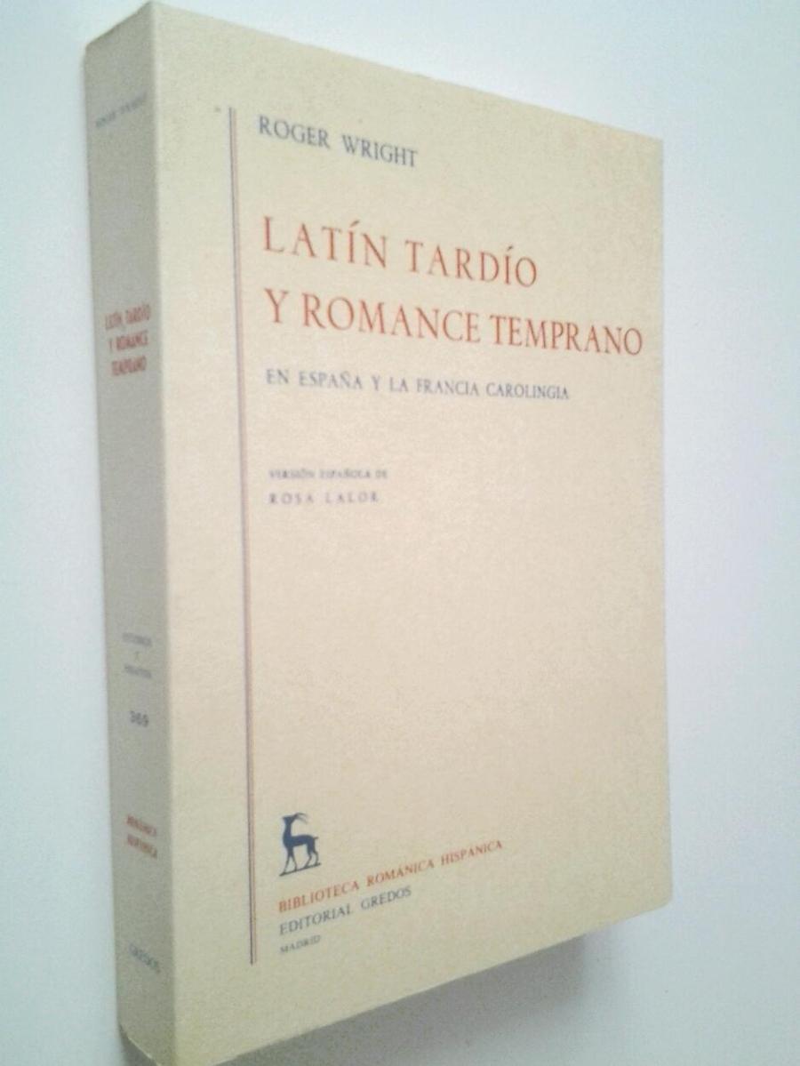 Latín tardío y romance temprano en España y la Francia carolingia Book Cover