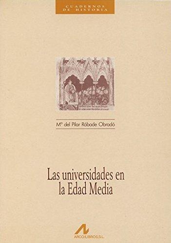 Las universidades en la Edad Media Book Cover