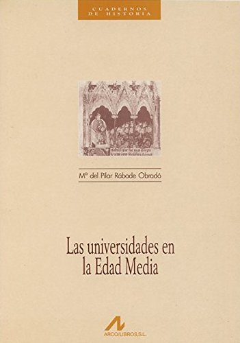 Las universidades en la Edad Media Book Cover