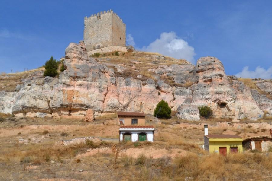 Castillo de Langa de Duero (Soria)
