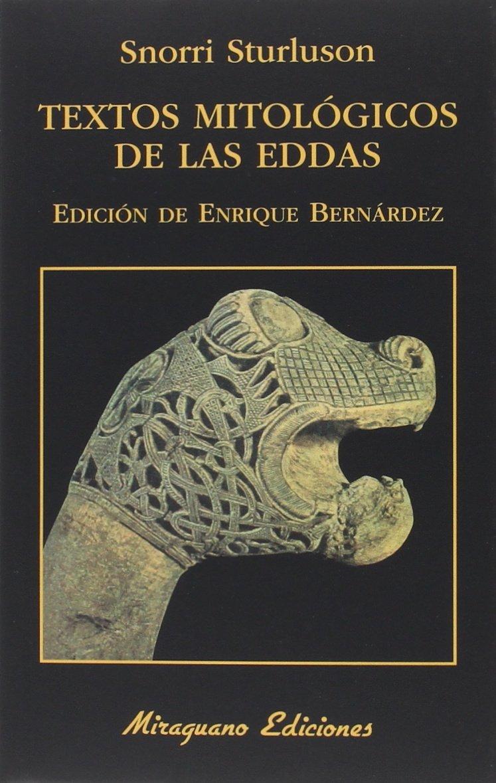 Textos mitológicos de Las Eddas Book Cover