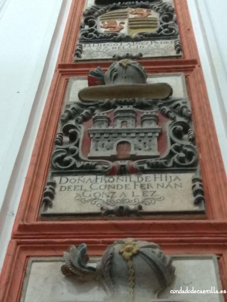 Sepulcro de Fronilde Fernández en San Pedro de Cardeña