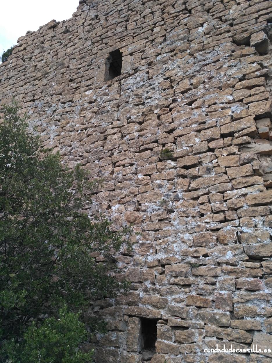Torre de Astulez - Muro oeste