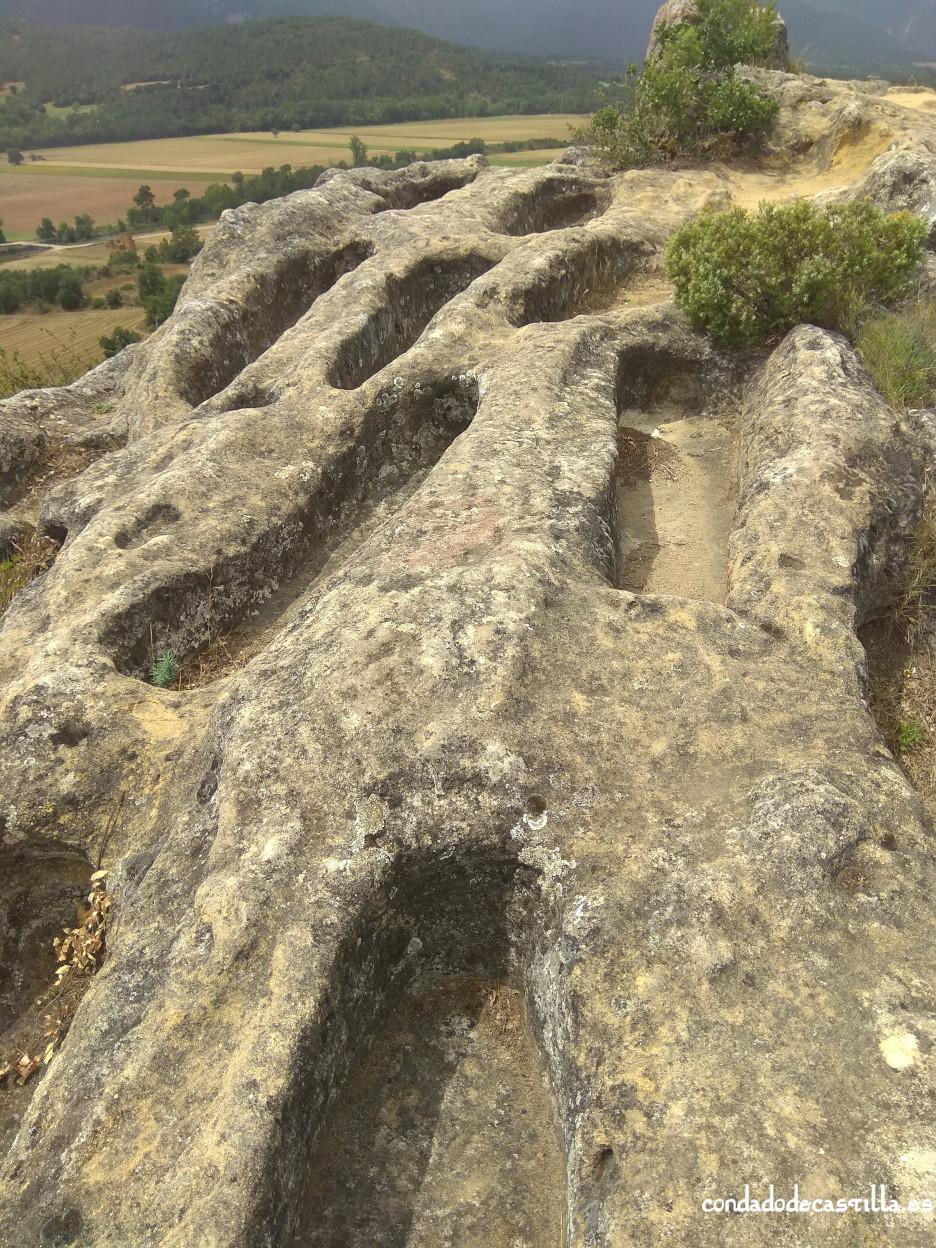 Necrópolis de la Peña de San Clemente en Quintana-María
