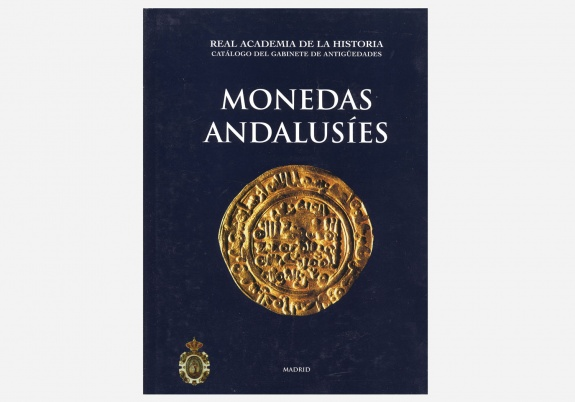Monedas andalusíes Book Cover