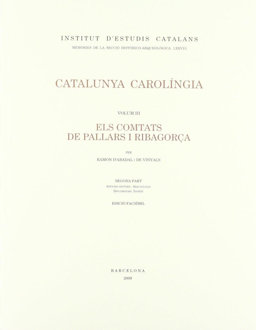 Els comtats de Pallars i Ribagorça. Segona Part Book Cover
