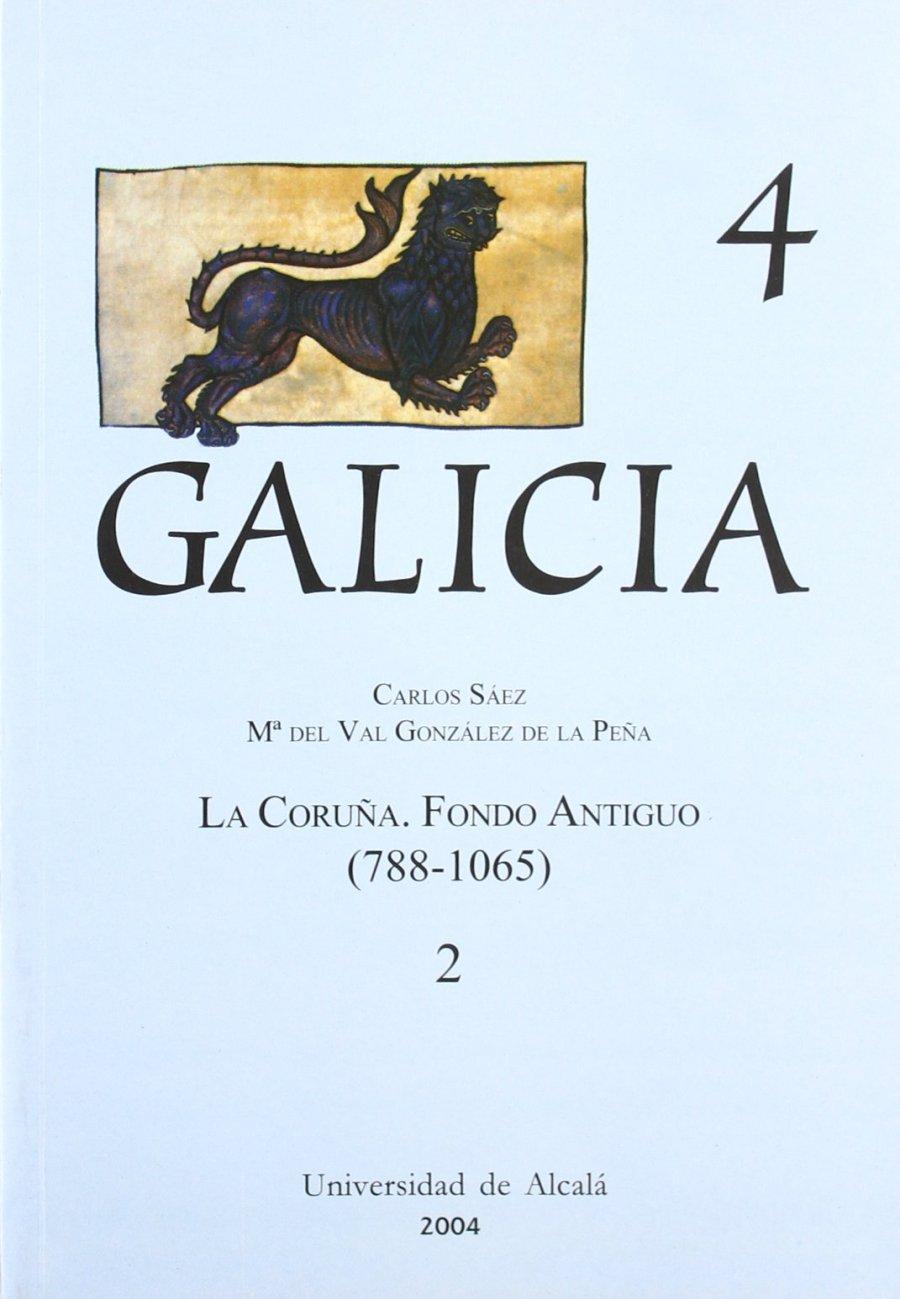 La Coruña, fondo antiguo (788-1065) Book Cover