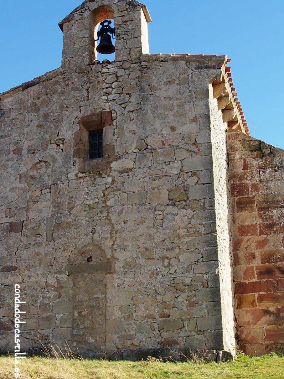 Fachada oeste de la Virgen del Cerro