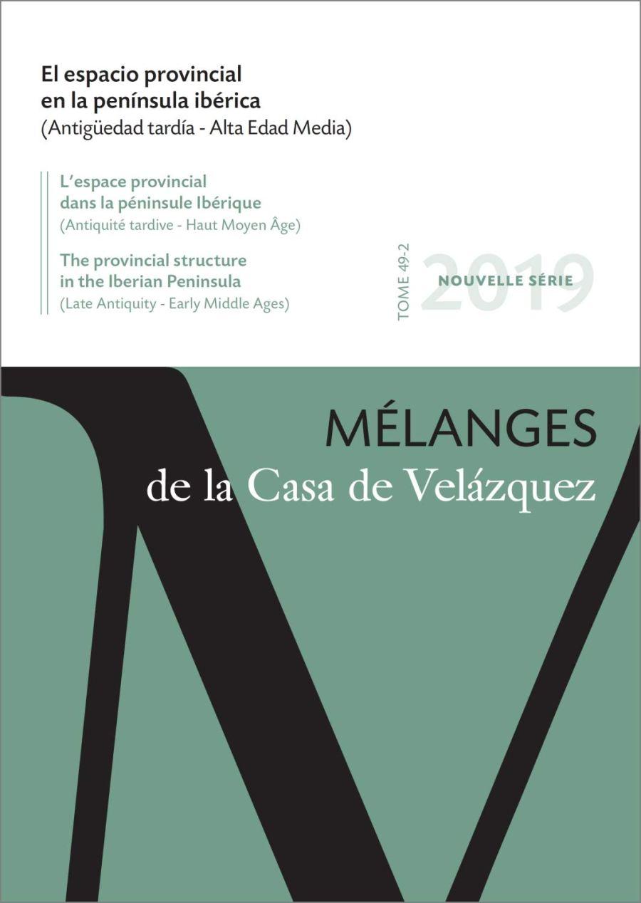 El espacio provincial en la península ibérica (Antigüedad tardía - Alta Edad Media) Book Cover
