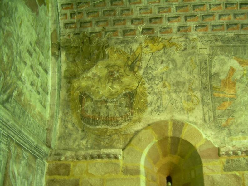 Mural de la iglesia de Basconcillos del Tozo