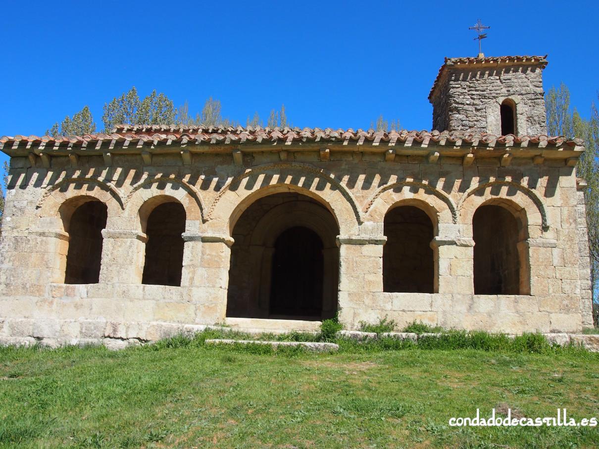Pórtico románico de Santa Cecilia