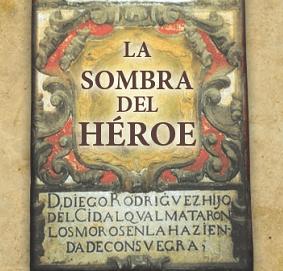 La sombra del héroe Book Cover