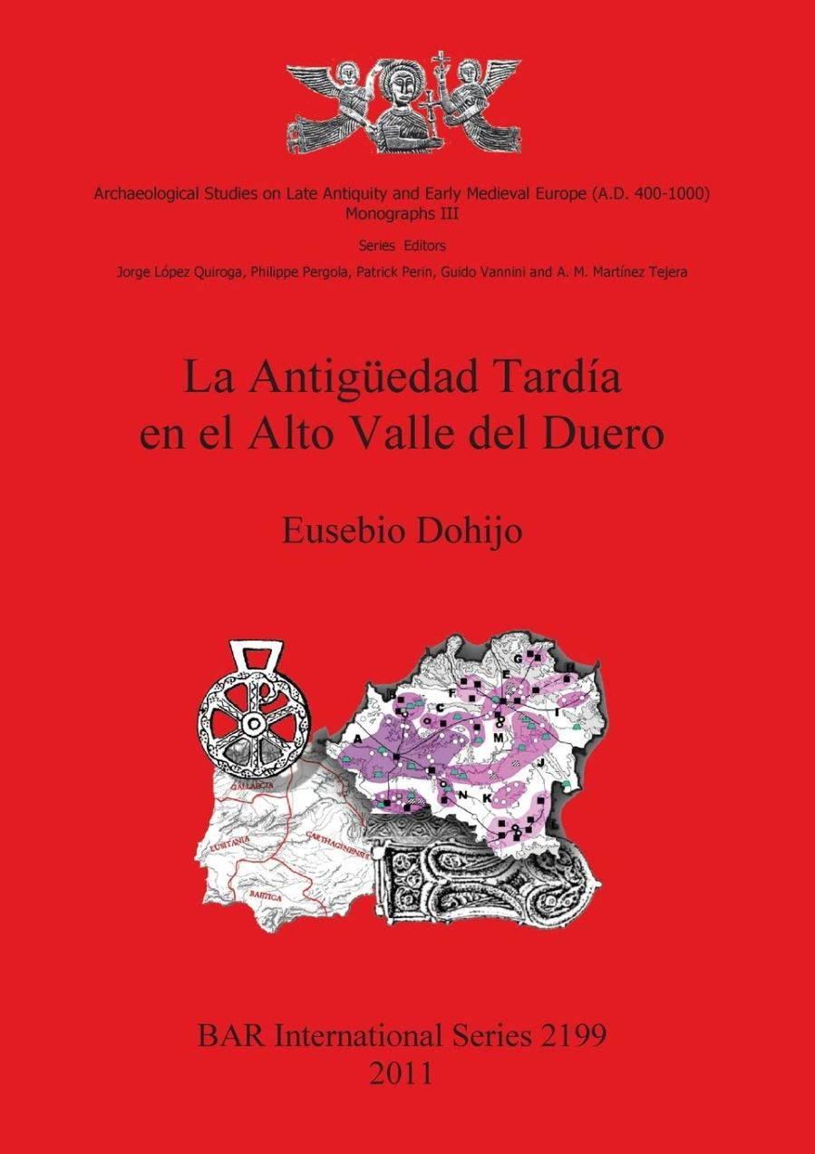 La antigüedad tardía en el Alto Valle del Duero Book Cover